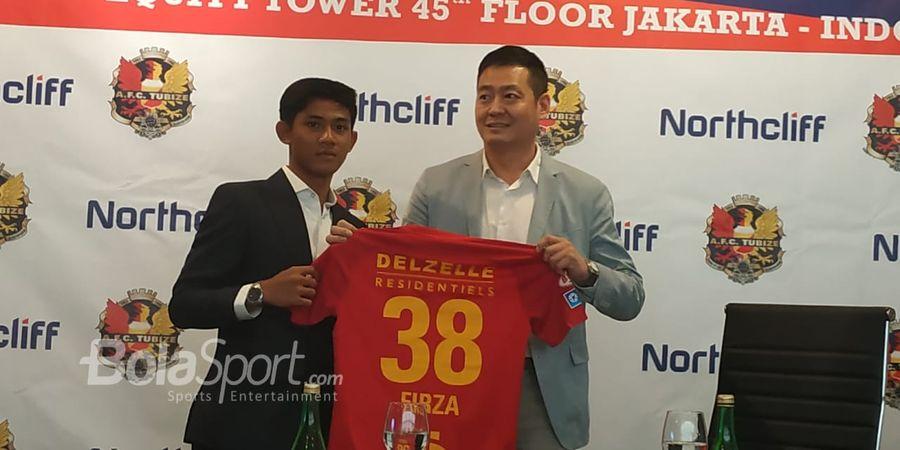 Firza Andika Disebut Bakal Didepak oleh Klub Belgia AFC Tubize