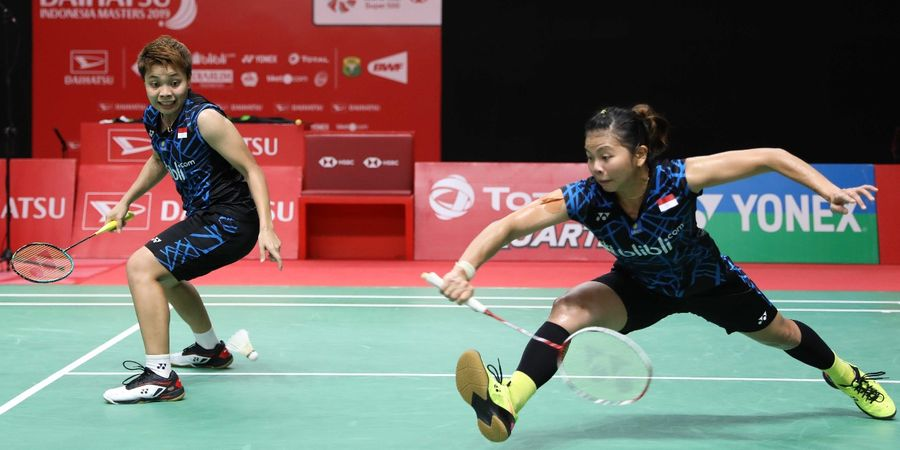 German Open 2019 - Greysia/Apriyani Gagal Revans dari Ganda China