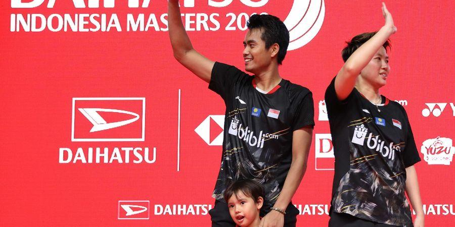 Indonesia Open 2019 - Ini Doa Liliyana Natsir Bagi Tontowi Ahmad