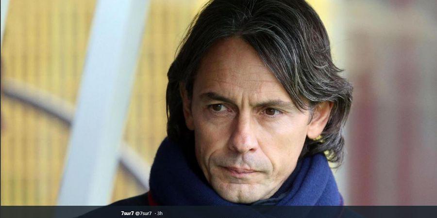 Sayang Adik, Filippo Inzaghi Tak Harapkan AC Milan Menang atas Lazio