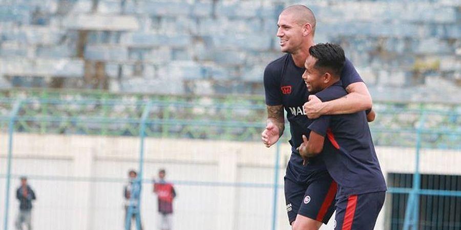 Kondisi Terkini Aleksandar Rakic Setelah Kembali ke Skuat Madura United