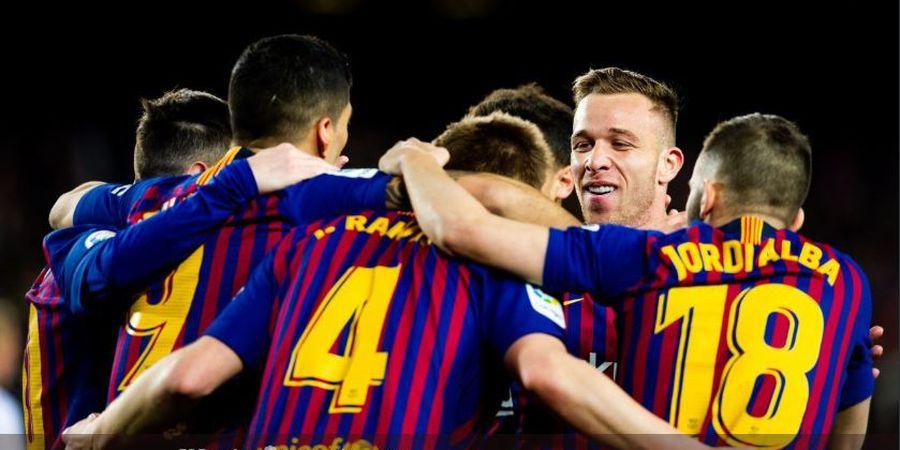 Hasil Copa del Rey - Lionel Messi Pimpin Barcelona Gebuk Sevilla 6-1