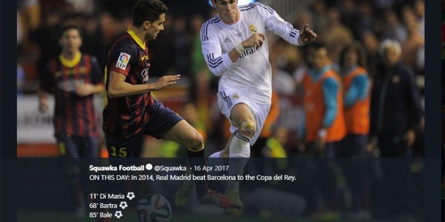 VIDEO - Gol Ajaib Gareth Bale di Laga El Clasico Terakhir Copa del Rey