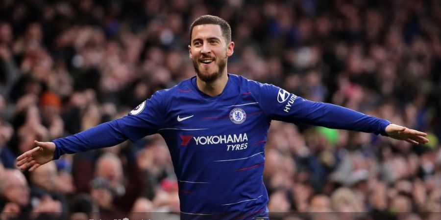 Eden Hazard Disarankan Pindah ke Real Madrid