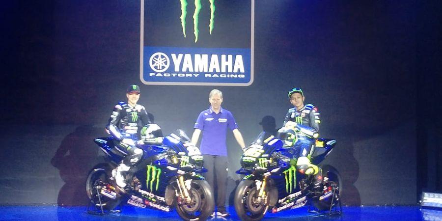 Tim Monster Energy Yamaha MotoGP Resmi Luncurkan Livery Baru