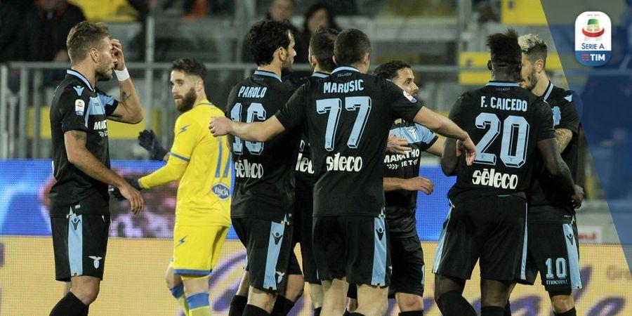 Hasil Lengkap Liga Italia - Lazio Menang, Keran Gol Zapata Terhenti