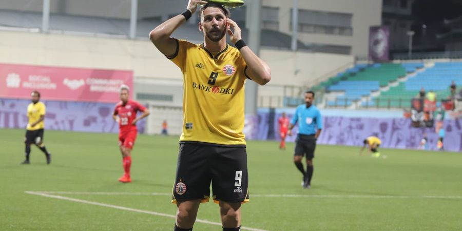 Marko Simic Merasa Golnya ke Gawang Home United Berkat Kerja Keras Semua Pemain Persija