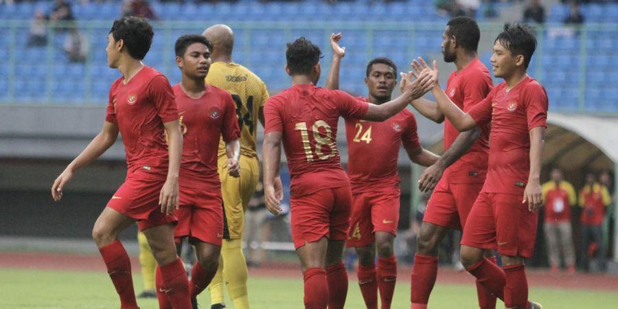Susunan Pemain Timnas U-22 Indonesia Vs Myanmar di Piala AFF U-22 2019