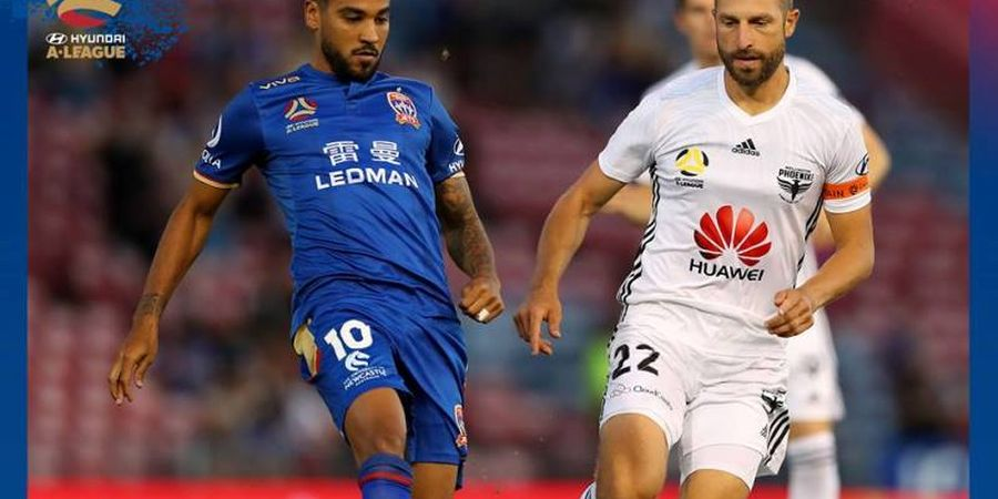 Newcastle Jets Pasang Eks Striker Premier League, Ini Starter Mereka