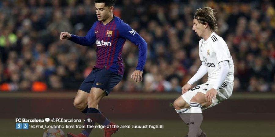 Rating Pemain Real Madrid Vs Barcelona, Asensio dan Coutinho Terjeblok