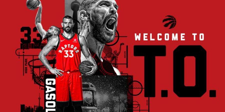 Toronto Raptors Juara, Gasol Bersaudara Catat Rekor Istimewa
