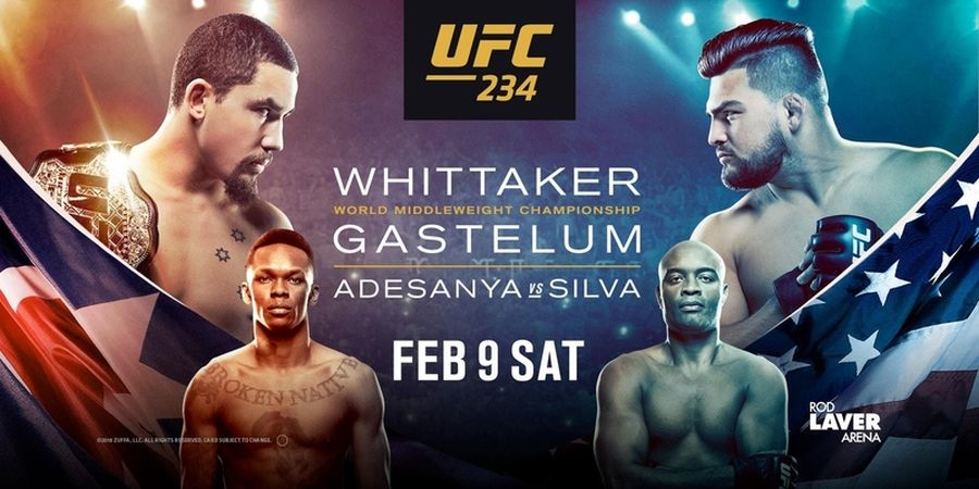 Robert Whittaker Hernia, Laga Utama UFC 234 Terpaksa Diganti Mendadak