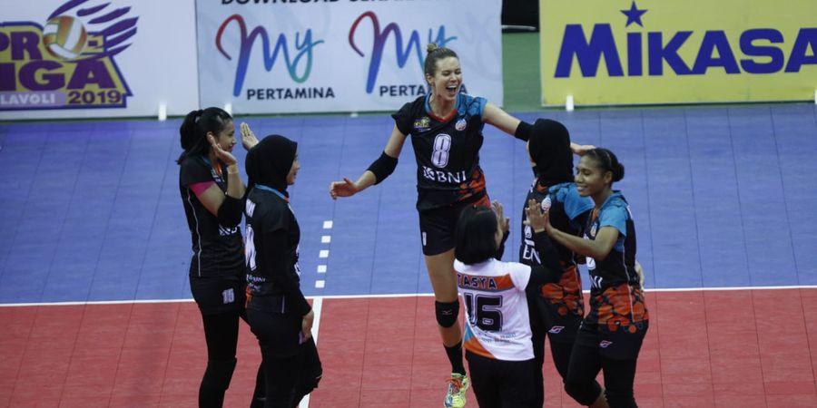 Final Four Proliga 2019 - Tim Putri BNI Raih Kemenangan Pertama