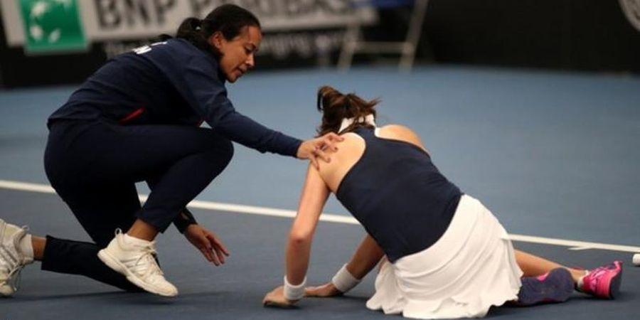 Lawan Rasa Lelah, Konta Menangkan Britania Raya pada Piala Fed 2019