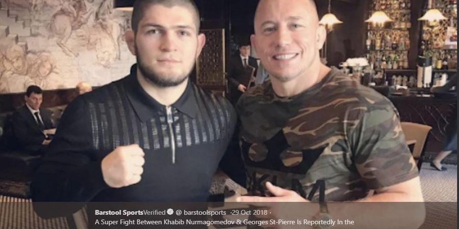 Georges St-Pierre, Sang Legenda UFC Diyakini Akan Kembali Tahun Ini?