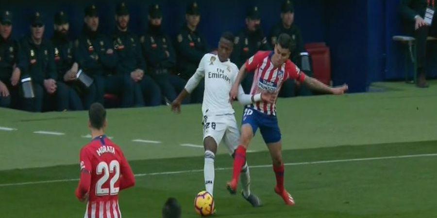Vinicius Junior Buat Luka Modric Meradang saat Lawan Atletico Madrid