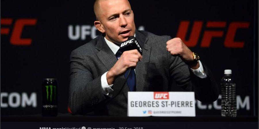 Bukan Khabib, Georges St-Pierre Pilih Jagoan Ini sebagai GOAT-nya UFC