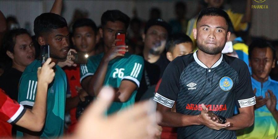 Saddil Ramdani Kembali Berlaga dan Ikut Selamatkan Pahang FA dari Kekalahan