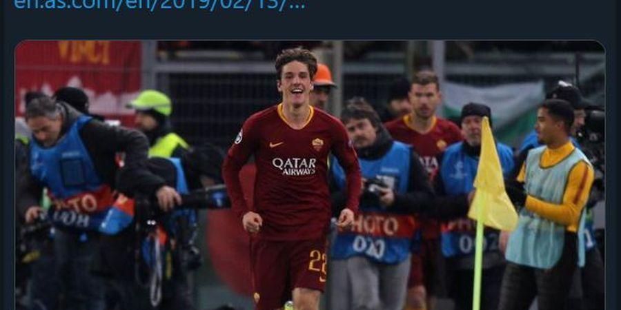 PROFIL: Nicolo Zaniolo, Bocah Ajaib AS Roma yang Lepas dari Tangan Inter Milan