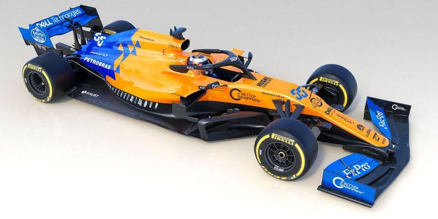 Selubung Mobil Baru Tim McLaren untuk F1 2019 Telah Resmi Dibuka