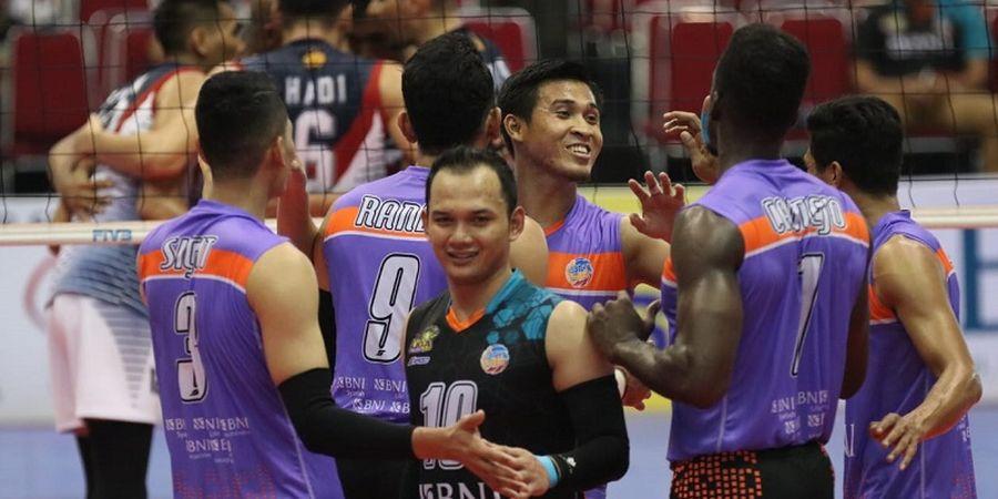 Putra BNI 46 Jadi Tim Pertama yang Kunci Tiket Final Proliga 2019