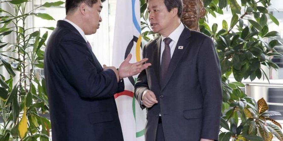 Bertemu dengan IOC, Korea Selatan-Korea Utara Isyaratkan Tim Gabungan