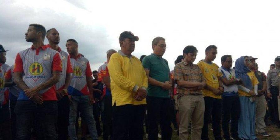 Barito Putera Resmikan Pengurus Suporter Bartman di Kecamatan Ini