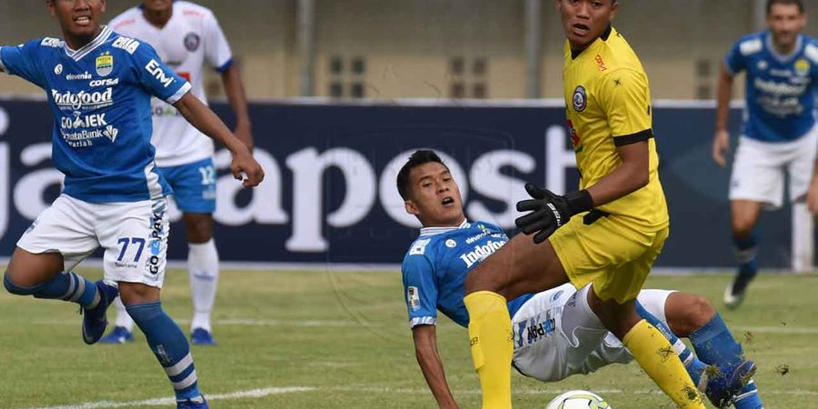Kenapa Persib Ditahan Arema FC? Ini yang Terjadi di Si Jalak Harupat