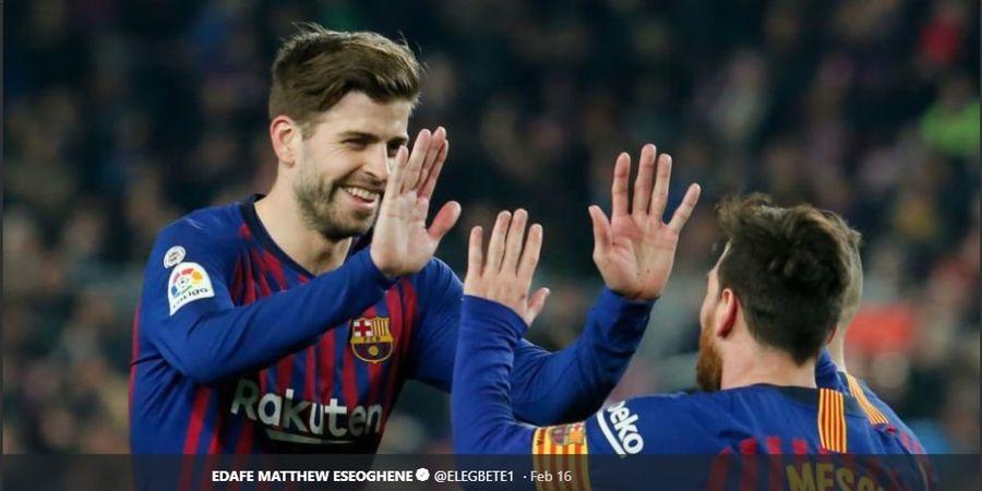 Dua Harapan Gerard Pique: Lionel Messi Bertahan dan Jadi Presiden Barcelona