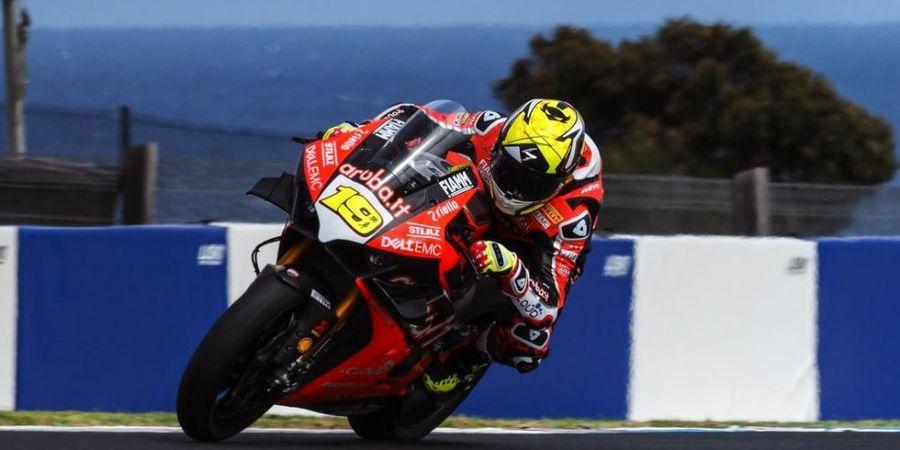 Alvaro Bautista Mendominasi pada Seri Balap Perdana Superbike 2019