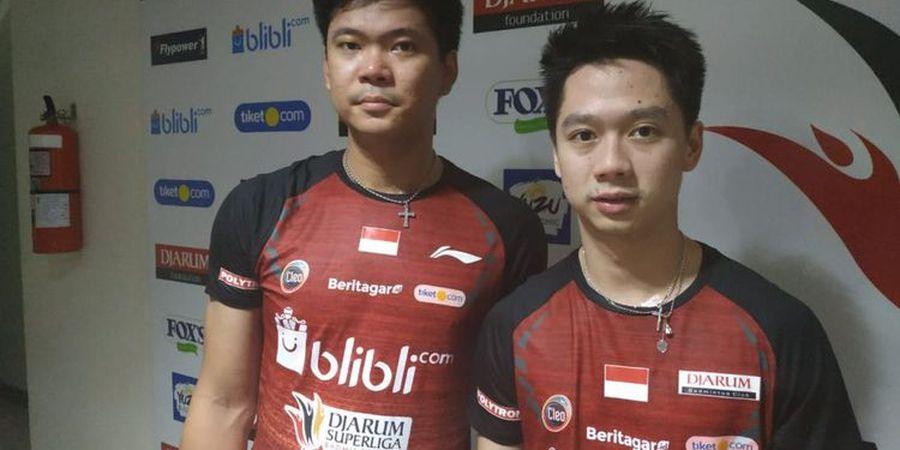 Kesan Kevin Sanjaya Berduet dengan Praveen Jodan pada Superliga 2019