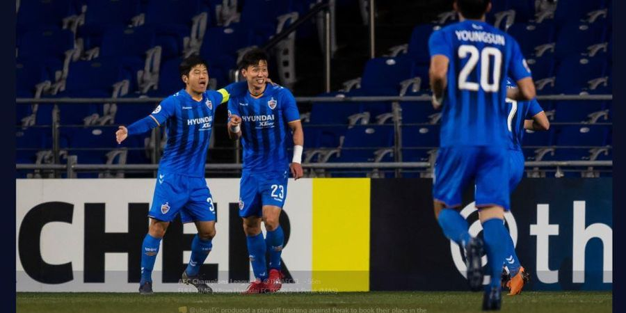 Hasil Liga Champions Asia - Wakil Malaysia Dibabat Ulsan Hyundai 1-5