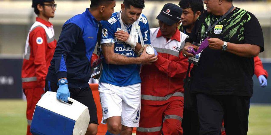 Esteban Vizcarra Diragukan Bisa Tampil di Leg Kedua Piala Indonesia Kontra Arema FC