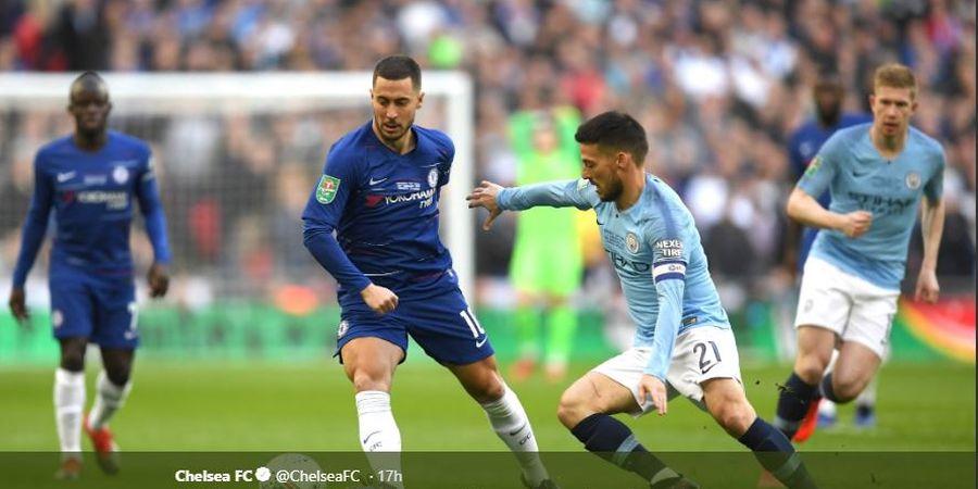 Menawan di Final Piala Liga Inggris, Eden Hazard Pantas ke Real Madrid