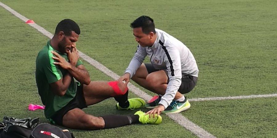 Marinus Wanewar Dapat Kendala Saat Latihan Timnas U-23 Indonesia