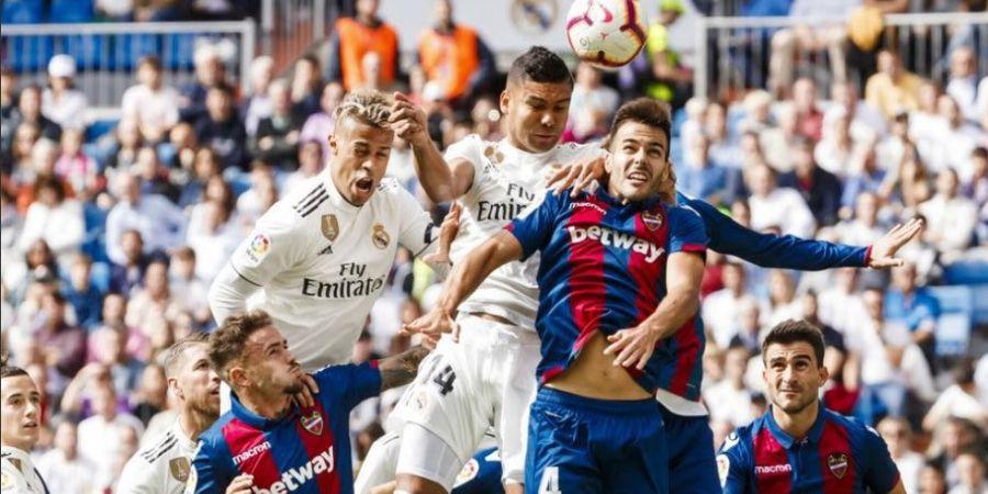 Susunan Pemain Levante Vs Real Madrid - El Real Dihantui Kekalahan
