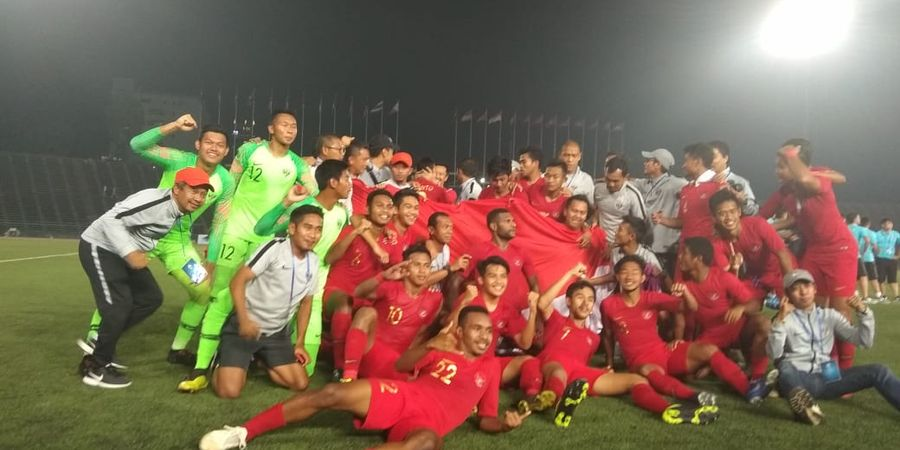 Kalahkan Thailand, Timnas U-22 Indonesia Juara Piala AFF U-22 2019