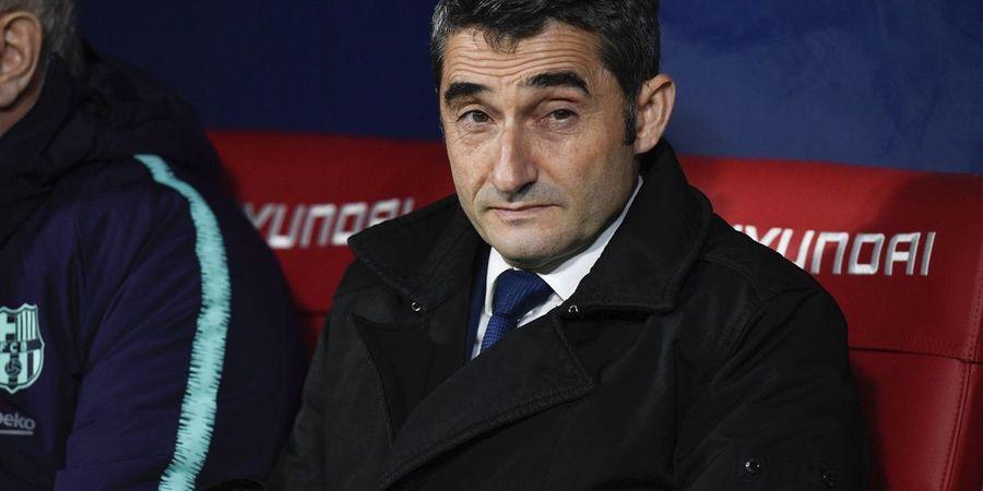 Real Madrid Vs Barcelona - Valverde Masa Bodoh Ditanya Treble Winners