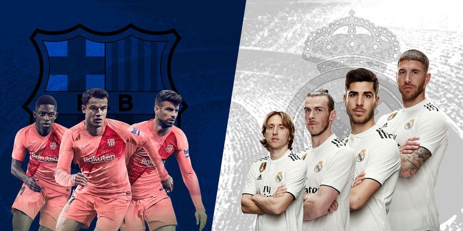 Berebut Gelar Juara, Real Madrid dan Barcelona Bisa Mati-matian Sampai Akhir Musim