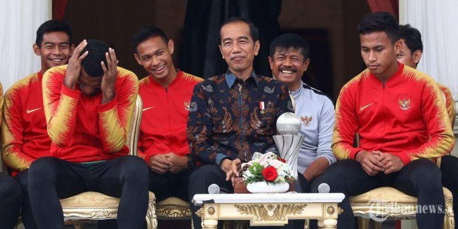 Permintaan Khusus Marinus Wanewar kepada Presiden Jokowi Usai Juara Piala AFF U-22 2019
