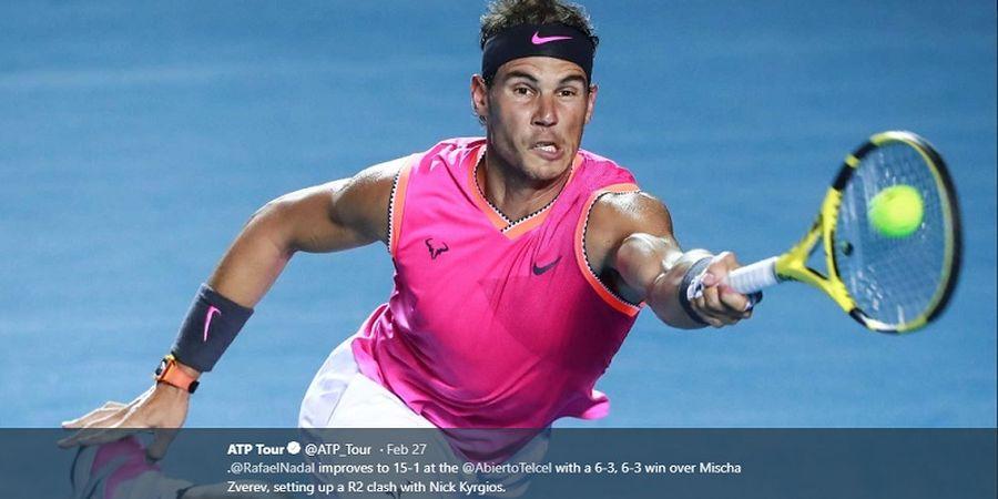 Duel Kontra Roger Federer Urung Terjadi Karena Nadal Alami Cedera