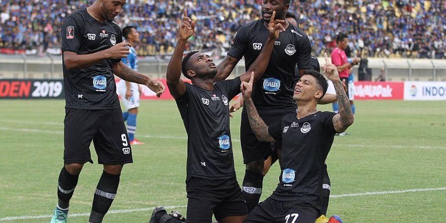 Tira Persikabo Kembali ke Puncak Klasemen Liga 1 2019 Berkat Kemenangan atas PSS Sleman