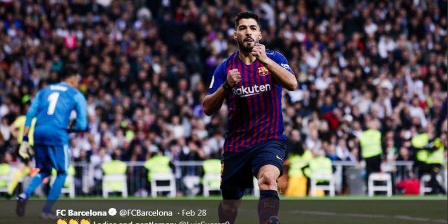 Real Madrid Vs Barcelona, Luis Suarez Rata-rata Cetak Satu Gol Setiap El Clasico