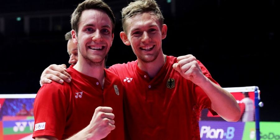 Kalah dari Marcus/Kevin di Indonesia, Ganda Putra Jerman Ini Ingin Ubah Nasib pada All England