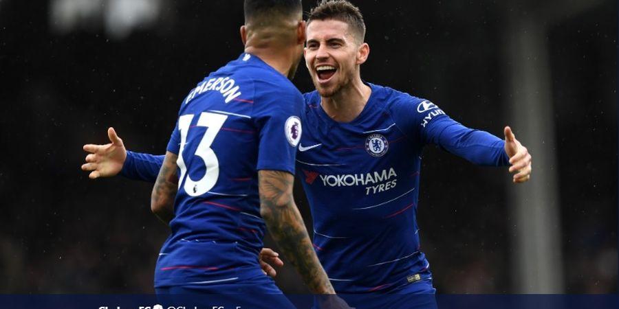Babak I Fulham Vs Chelsea - Jorginho Bawa Chelsea Unggul Sementara