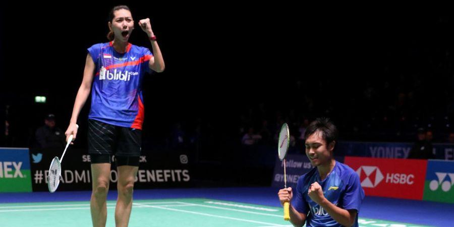 Hasil Singapore Open 2019 - Hafiz/Gloria Menang Mudah Atas Rinov/Pitha