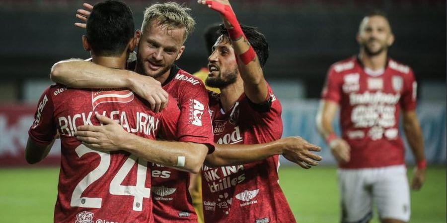 Melvin Platje Absen Latihan bersama Skuat Bali United Selama Sepekan