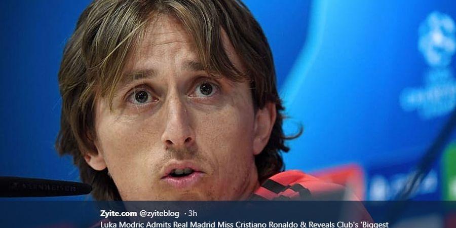 Jadi Tambahan Transfer Neymar, Luka Modric Enggan Hengkang dari Real Madrid