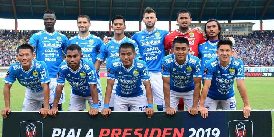 Piala Presiden 2019 - Persib Vs Perseru Sama Kuat di Babak Pertama