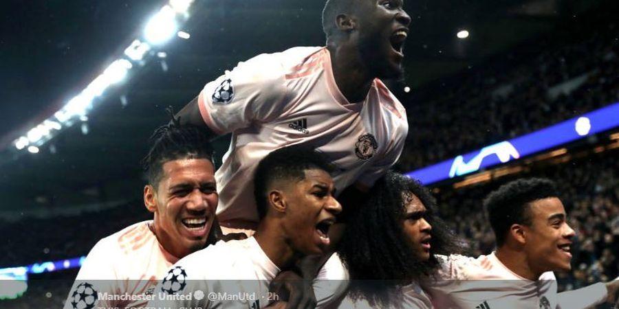 VIDEO - Cedera, 3 Pemain Man United Tetap Selebrasi Heboh Lawan PSG